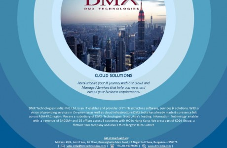 thumbnail of Cloud Brochure