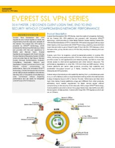 thumbnail of Everest SSL VPN